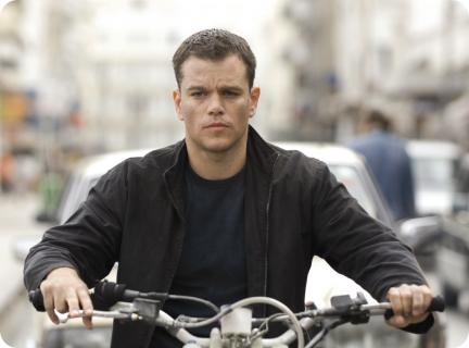 """Matt Damon jako Jason Bourne. Zdjęcie z planu """"Bourne 5"""""""