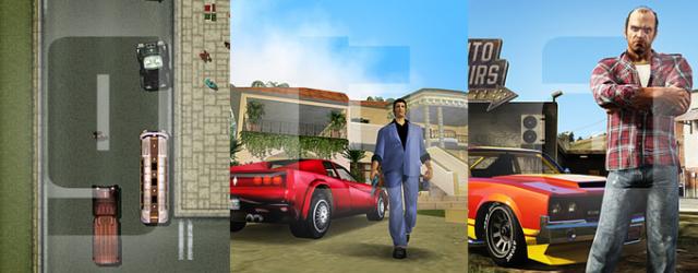"""Trzy uniwersa """"Grand Theft Auto"""""""