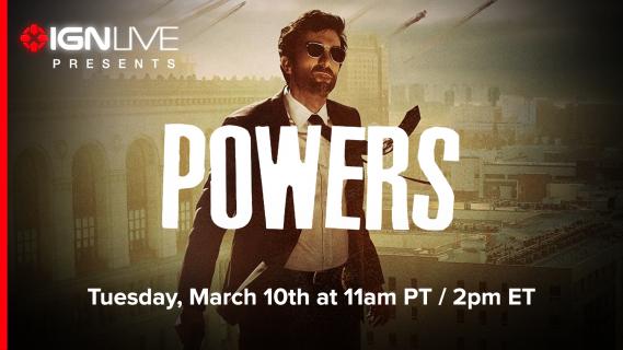 """Premierowy odcinek """"Powers"""" za darmo, dla wszystkich!"""