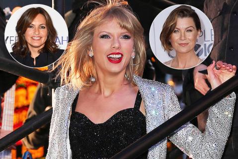 Ellen Pompeo, Mariska Hargitay i inne znane twarze w nowym teledysku Taylor Swift