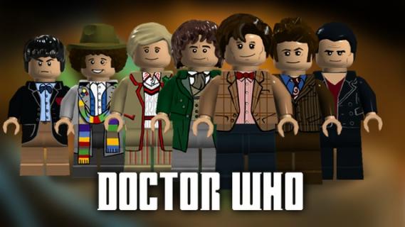 """Bohaterowie serialu """"Doktor Who"""" w grze """"LEGO Dimensions"""""""