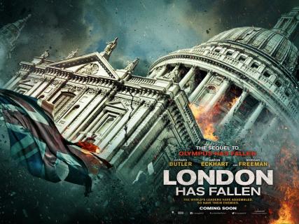 """""""London Has Fallen"""" – pierwszy zwiastun kontynuacji hitu """"Olimp w ogniu"""""""