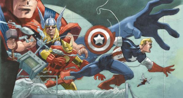 """Marvel ujawnia plansze z """"Captain America: White"""""""