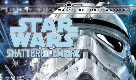 """""""Star Wars: Shattered Empire"""" – okładka komiksu pokazuje nową postać"""