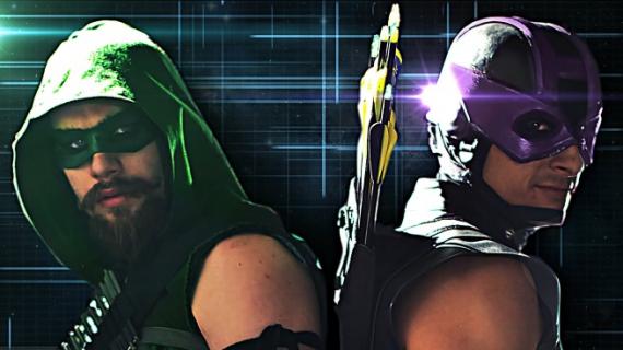 Green Arrow vs Hawkeye – fanowskie wideo