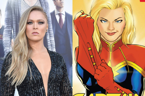Ronda Rousey jako Captain Marvel? Kevin Smith popiera pomysł – wideo