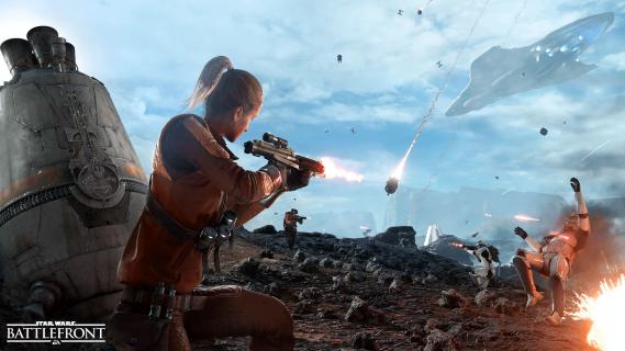 Infografika podsumowująca rozgrywkę w Star Wars: Battlefront