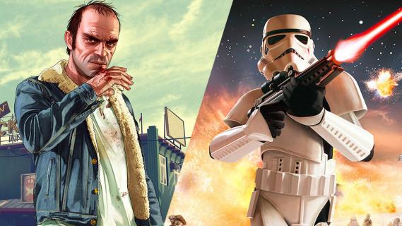 Świąteczna promocja Sony: GTA V i Star Wars: Battlefront taniej