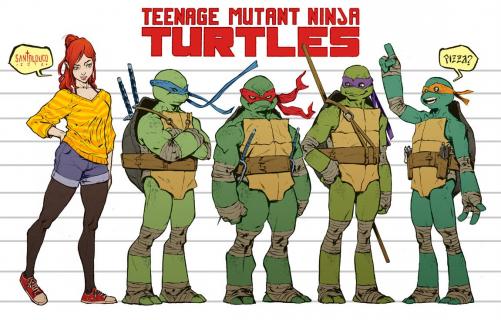 Teenage Mutant Ninja Turtles - oto okładki 100. komiksu o bohaterach