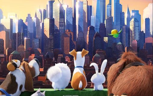 Sekretne życie zwierzaków domowych najpopularniejszym filmem weekendu