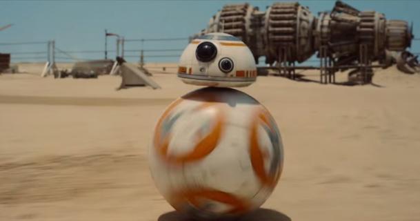 Star Wars 9 - czołg w kształcie BB-8 mógł się pojawić. Jest szkice koncepcyjny