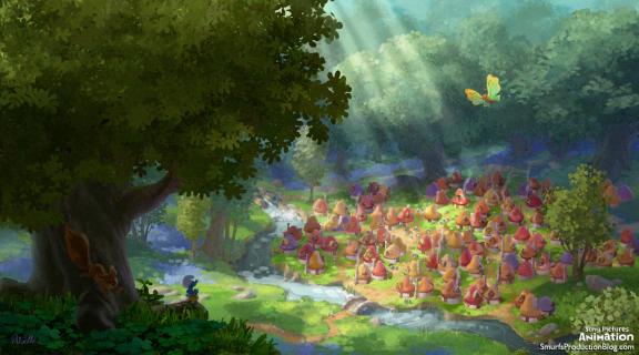 Pierwsze zdjęcia z filmu animowanego Smurfs: The Lost Village