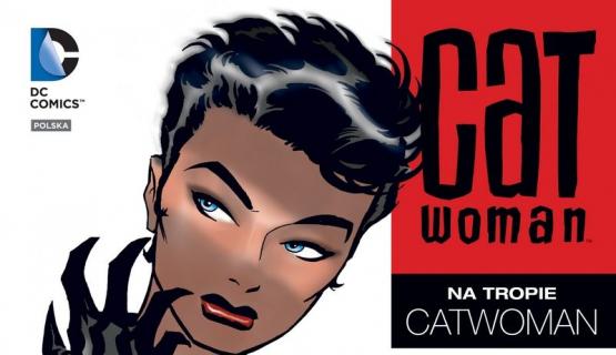 Plansze z komiksu Na tropie Catwoman