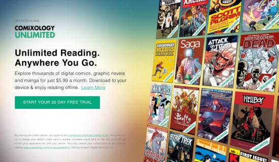 ComiXology Unlimited – Netflix wśród komiksów przez 30 dni za darmo