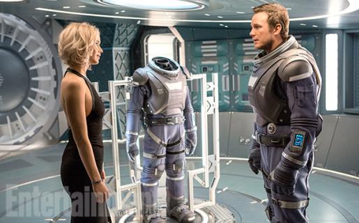 Już jest! Pełny zwiastun science fiction Pasażerowie!