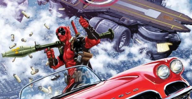 Zobacz plansze z komiksu Deadpool kontra SHIELD
