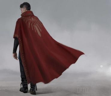 Szkice koncepcyjne z Doktor Strange – kostiumy i trening bohatera