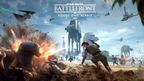 Star Wars Battlefront: zwiastun dodatku Rogue One Scarif
