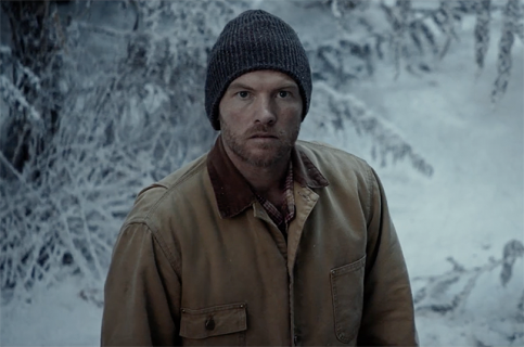 Sam Worthington w zwiastunie filmu The Shack