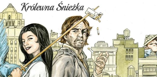 Baśnie #19: Królewna Śnieżka – recenzja komiksu