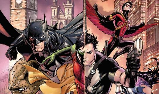 Wieczni Batman i Robin, tom 1 – recenzja komiksu