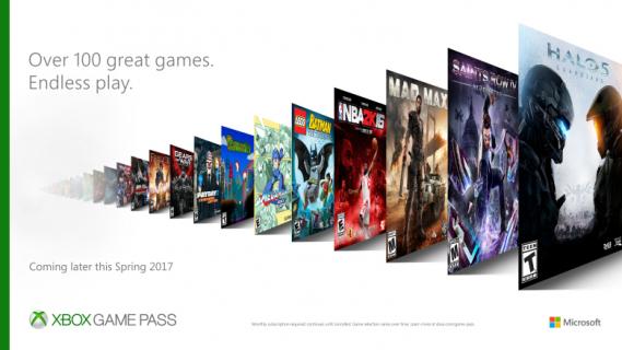 Xbox Game Pass – nowa usługa Microsoftu z nieograniczonym dostępem do gier