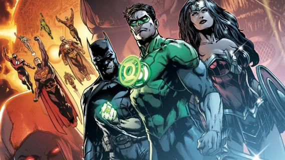 Justice League: Mortal – pogrzeb Batmana i inne szkice koncepcyjne widowiska