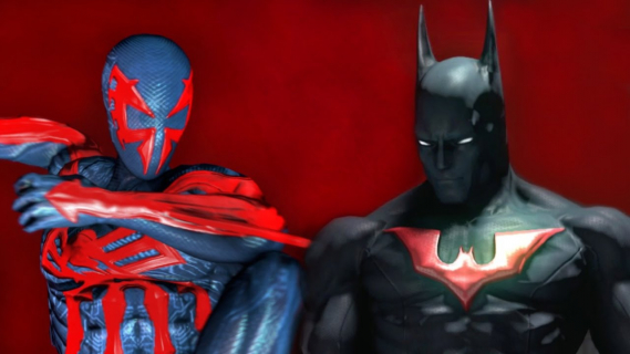 Batman Beyond kontra Spider-Man 2099. Zobacz walkę z Super Power Beat Down