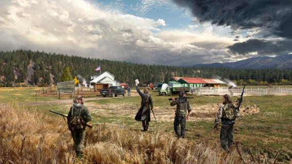 Kooperacyjny zwiastun Far Cry 5