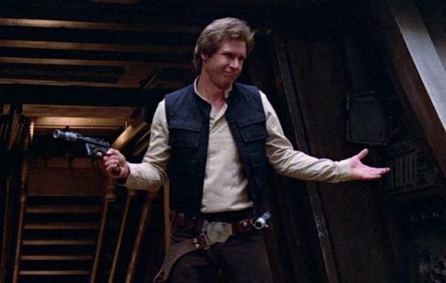 Blaster Hana Solo z filmu Powrót Jedi wystawiony na sprzedaż