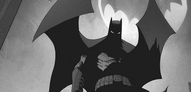 Umięśniony Batman w Justice League Mortal. Szkice koncepcyjne