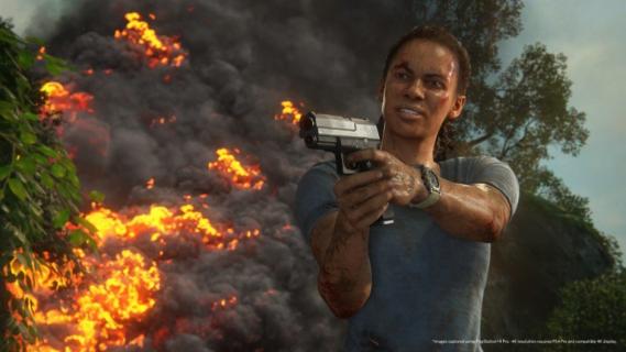 Pełen akcji spot Uncharted: Zaginione Dziedzictwo