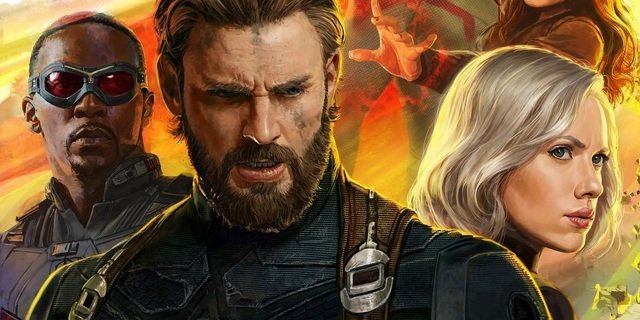 Grafika promocyjna Avengers: Infinity War. Jest nowy Spider-Man