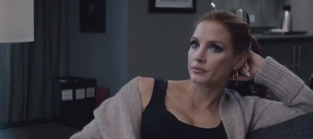 Jessica Chastain w zwiastunie filmu Molly's Game