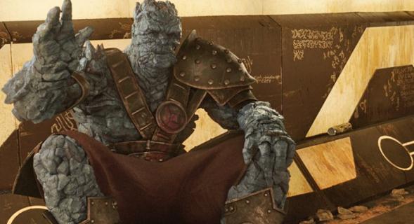 Thor: Ragnarok – postać Korga była zainspirowana bramkarzami z nocnych klubów