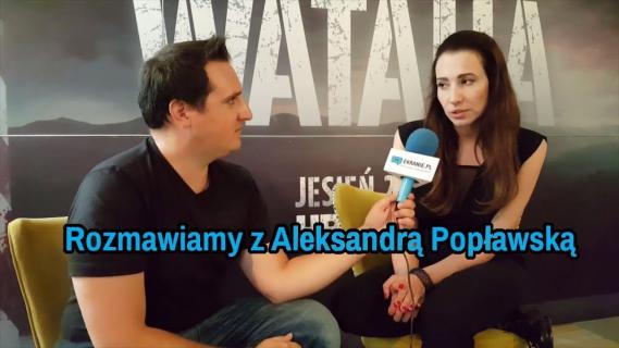 Dobosz straciła pewność siebie – rozmawiamy z Aleksandrą Popławską z serialu Wataha