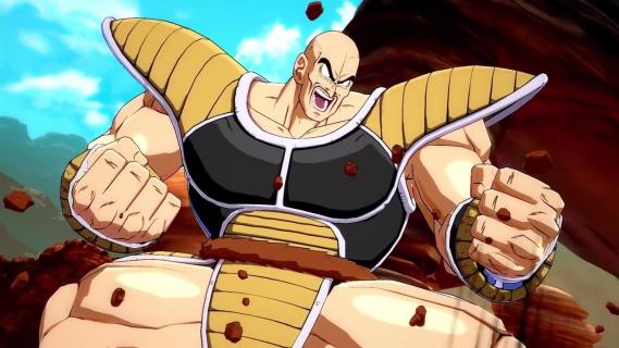 Nappa dołącza do postaci w Dragon Ball FighterZ. Zobaczcie zwiastun
