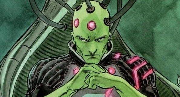 Brainiac żywcem wyjęty z komiksów! Zwiastun i zdjęcie złoczyńcy Kryptonu