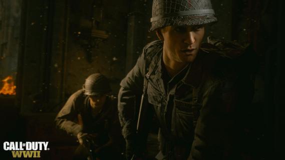 Obejrzyj kwadrans początkowej rozgrywki z Call of Duty: WWII
