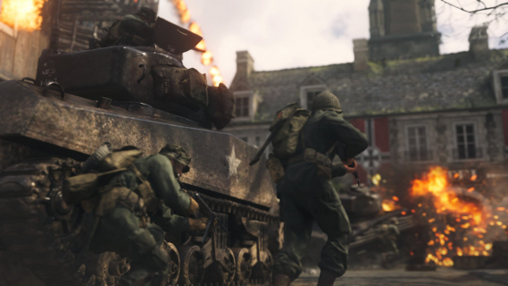 Call of Duty: WWII zarobiło pół miliarda dolarów w weekend