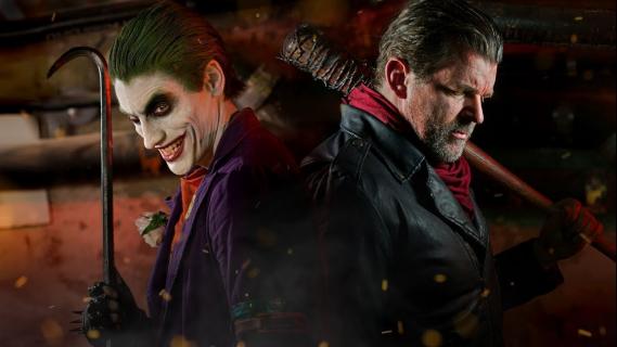 Joker vs. Negan – zobacz kolejny pojedynek z serii Super Power Beat Down