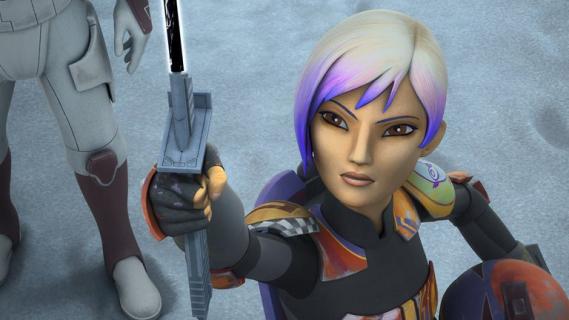 Gwiezdne Wojny - w serialu o Ahsoce Tano pojawią się postacie z animacji