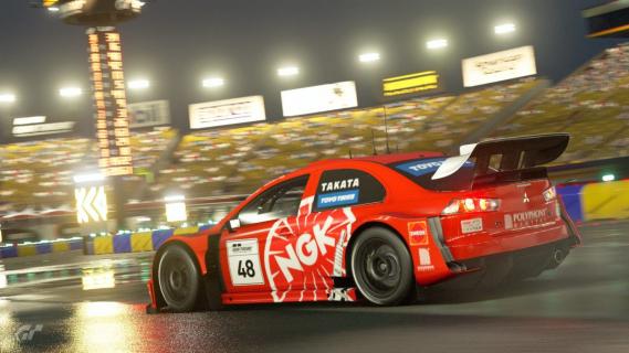 Gran Turismo Sport doczeka się jazdy w deszczowej aurze