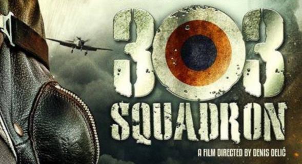 Dywizjon 303 – zobacz plakat polskiego filmu wojennego