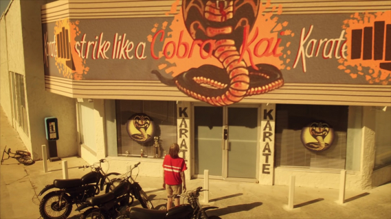 Sequel Karate Kid. Zobacz pierwszy teaser serialu Cobra Kai