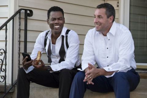 Adam Sandler i Chris Rock jako ojcowie. Zwiastun The Week Of Netflixa