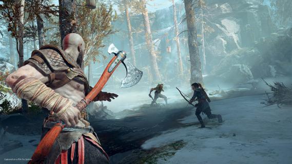 Polski twórca wykuł Lewiatana – topór Kratosa z gry God of War