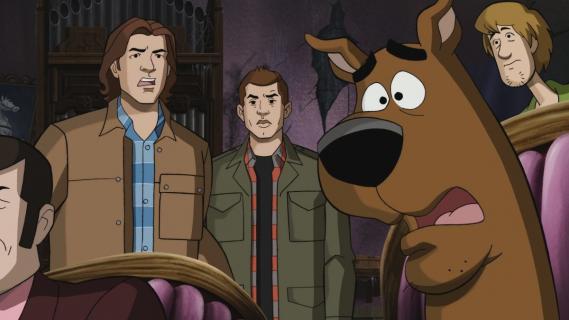 Nie z tego świata – kulisy odcinka ze Scooby Doo