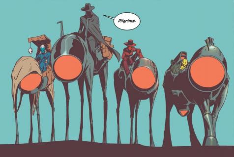Transhuman i East Of West – Amazon tworzy nowe seriale komiksowe