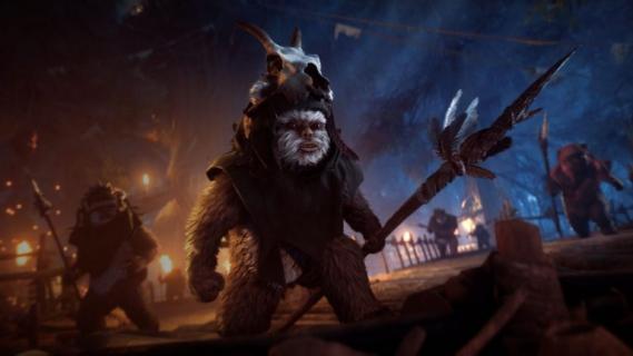 Ewoki grywalne w Star Wars: Battlefront 2